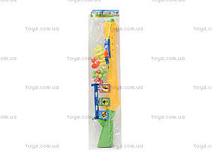 Пистолет с присосками для детей, 6286-2, детские игрушки