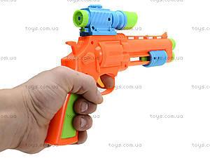 Пистолет с присосками «Меткий стрелок», 9466-20, фото