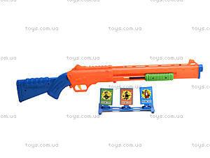 Пистолет с присосками для детей, 6286-2, магазин игрушек