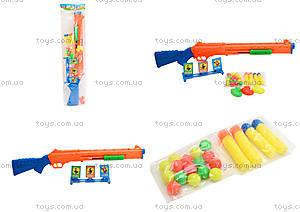 Пистолет с присосками для детей, 6286-2