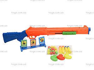 Пистолет с присосками для детей, 6286-2, toys