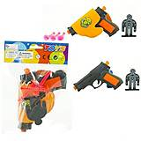 Пистолет с присосками в кульке, A048-32, фото