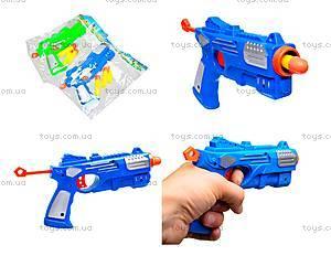 Игровой пистолет с присосками, YJ7979