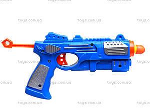 Игровой пистолет с присосками, YJ7979, игрушки
