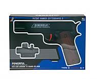 Пистолет с резиновыми пульками, 600-2, фото