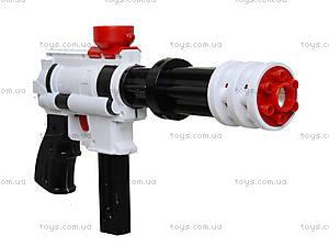 Водяной пистолет с пулями для активной игры, G130-7, цена