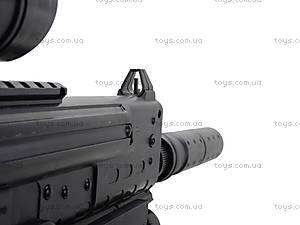 Детский пистолет с глушителем, SM.1306B, купить