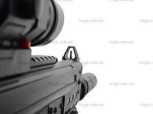 Детский пистолет с глушителем, SM.1306B, фото