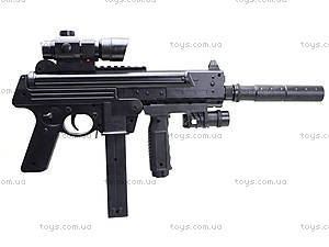 Детский пистолет с глушителем, SM.1306B, детские игрушки