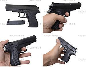 Игрушечный пистолет с пульками, для мальчишек, SM.729