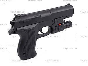 Игровой пистолет с пульками, прицелом, SM.729+, фото