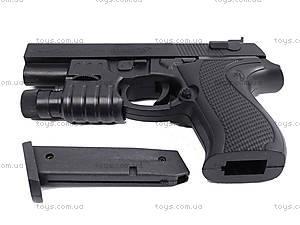 Игровой пистолет с пульками, прицелом, SM.729+, отзывы