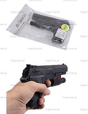 Игровой пистолет с пульками, прицелом, SM.729+
