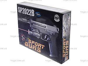 Утяжеленный пистолет с глушителем, SO2022B, фото