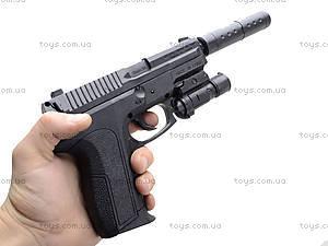 Утяжеленный пистолет с глушителем, SO2022B, отзывы