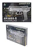 Пистолет с пульками, световые эффекты, SP3855-S, купить