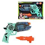 "Пистолет ""Space Gun"" бирюзовый (RF306), RF306, опт"