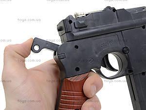 Детский пистолет с пульками Mauser, SQ303, фото
