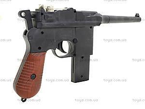 Детский пистолет с пульками Mauser, SQ303, цена