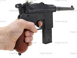 Детский пистолет с пульками Mauser, SQ303, игрушки