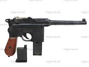 Детский пистолет с пульками Mauser, SQ303, детские игрушки
