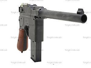 Детский пистолет с пульками Mauser, SQ303, магазин игрушек