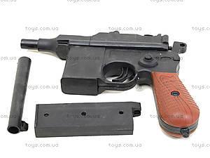 Детский пистолет с пульками Mauser, SQ303, toys.com.ua