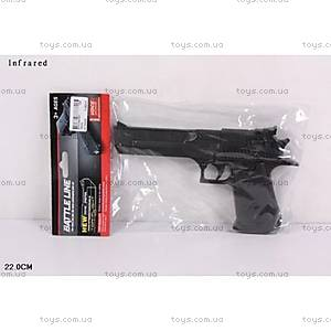 Пистолет трещетка игрушечный, 7653A