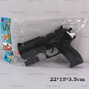 Пистолет-трещетка игрушечный, 6312A-6