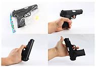 Пистолет детский на пульках 733-1, 733-1, фото