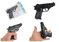 """Пистолет """"VIGOR 036"""" с пульками, 036, фото"""