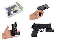 Пистолет VIGOR 042A с пульками, лазером, фонариком, 042A, фото