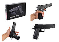 "Пистолет ""VIGOR"" с пульками, 2 вида, V304V306"
