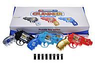 Пистолет звуковой со светом (разные цвета), 262-26, отзывы