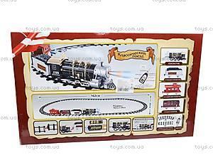 Радиоуправляемая железная дорога для детей, 3054, детские игрушки
