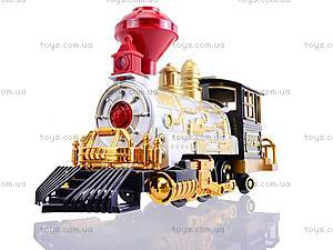 Радиоуправляемая железная дорога со звуком, 3049, toys