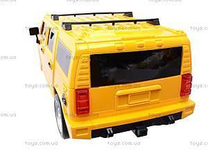 Радиоуправляемая машина Hummer с пультом-рулем, 666-CM02, игрушки