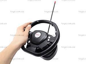 Радиоуправляемая машина Hummer с пультом-рулем, 666-CM02, детские игрушки