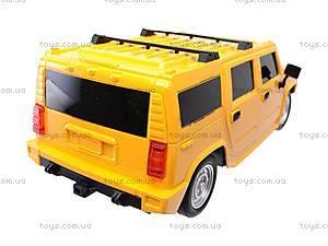 Радиоуправляемая машина Hummer с пультом-рулем, 666-CM02, магазин игрушек