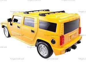 Радиоуправляемая машина Hummer с пультом-рулем, 666-CM02, toys.com.ua