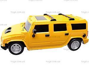 Радиоуправляемая машина Hummer с пультом-рулем, 666-CM02, toys