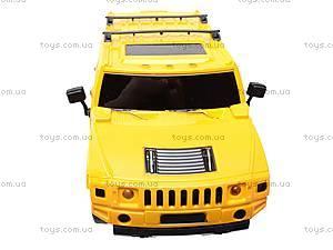 Радиоуправляемая машина Hummer с пультом-рулем, 666-CM02, іграшки