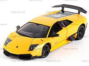 Радиоуправляемая машина Lamborghini LP670-4 SV, желтый, MZ-2152y
