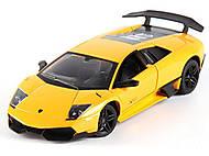 Радиоуправляемая машина Lamborghini LP670-4 SV, желтый, MZ-2152y, купить