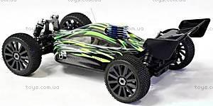 Радиоуправляемая машинка Багги Firestorm Nitro, зеленый, N8XBg, игрушки