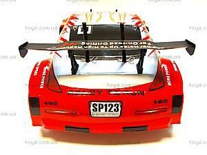 Радиоуправляемая машинка «Дрифт» Brushless, красная, HI4123BLr, детские игрушки