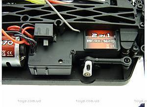Радиоуправляемая машинка Монстр Mastadon Brushed, черный, E18MTb