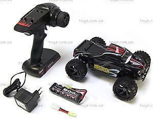 Радиоуправляемая машинка Монстр Mastadon Brushed, черный, E18MTb, игрушки