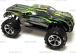 Радиоуправляемая машинка Монстр Raider Mega Brushless, зеленый, MegaE8MTLg