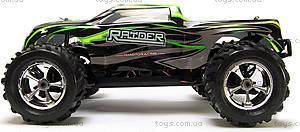 Радиоуправляемая машинка Монстр Raider Mega Brushless, зеленый, MegaE8MTLg, детские игрушки